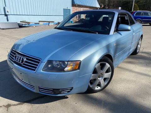 2003 Audi A4 for sale at Granite Auto Sales in Spofford NH