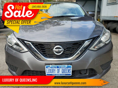 2019 Nissan Sentra for sale at LUXURY OF QUEENS,INC in Long Island City NY