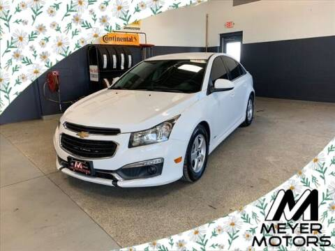 2016 Chevrolet Cruze Limited for sale at Meyer Motors in Plymouth WI