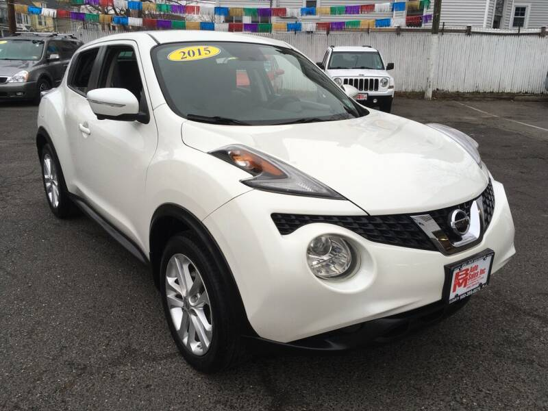 2015 Nissan JUKE for sale at B & M Auto Sales INC in Elizabeth NJ