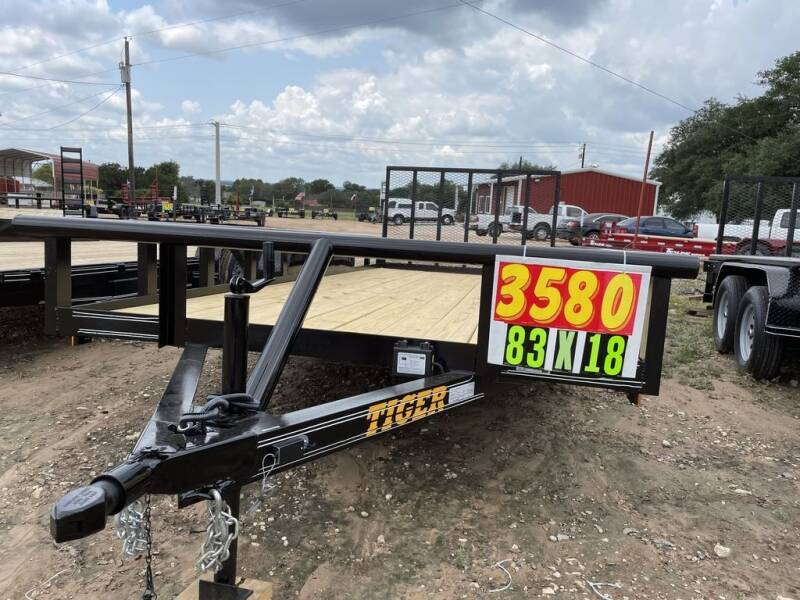 """2021 TIGER - 83"""" X 18' PIPETOP - GAT for sale at LJD Sales in Lampasas TX"""