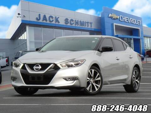 2016 Nissan Maxima for sale at Jack Schmitt Chevrolet Wood River in Wood River IL