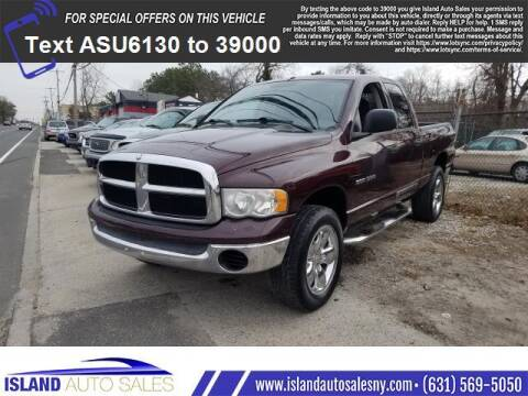 2005 Dodge Ram Pickup 1500 for sale at Island Auto Sales in E.Patchogue NY