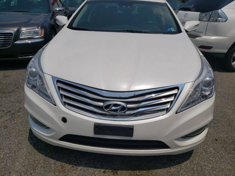 2013 Hyundai Azera for sale at Jimmys Auto INC in Washington DC
