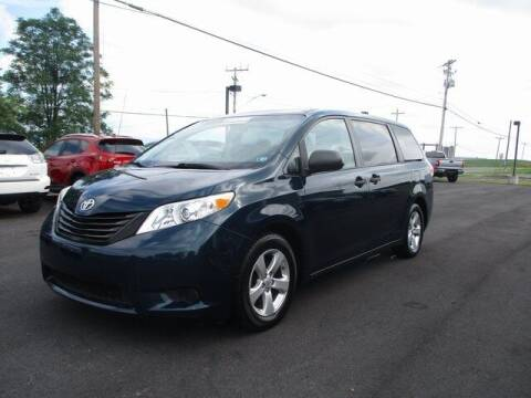 2012 Toyota Sienna for sale at FINAL DRIVE AUTO SALES INC in Shippensburg PA