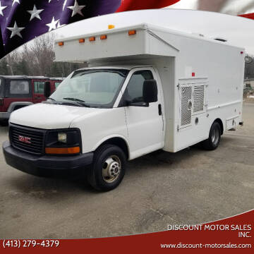 2007 GMC Savana Cutaway for sale at Discount Motor Sales inc. in Ludlow MA