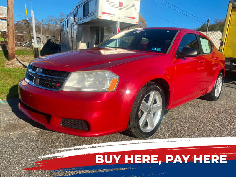 2013 Dodge Avenger for sale at WINNERS CIRCLE AUTO EXCHANGE in Ashland KY
