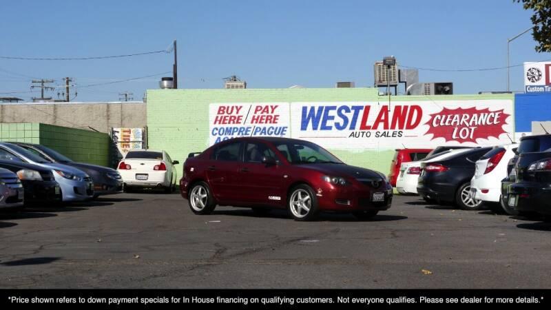 2008 Mazda MAZDA3 for sale at Westland Auto Sales in Fresno CA