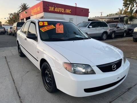 2003 Mazda Protege for sale at 3K Auto in Escondido CA