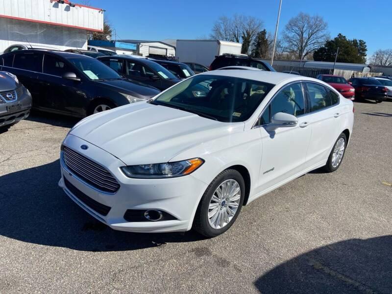 2013 Ford Fusion Hybrid for sale at Premium Auto Brokers in Virginia Beach VA