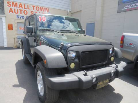 2010 Jeep Wrangler for sale at Small Town Auto Sales in Hazleton PA