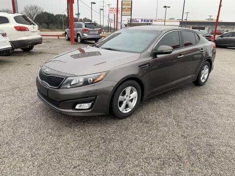 2014 Kia Optima for sale at Texas Drive LLC in Garland TX