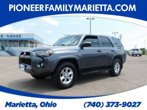 2016 Toyota 4Runner for sale at Pioneer Family preowned autos in Williamstown WV