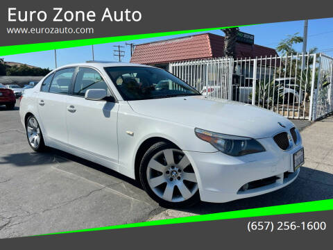 2007 BMW 5 Series for sale at Euro Zone Auto in Stanton CA