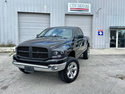2007 Dodge Ram Pickup 1500 for sale at CTN MOTORS in Houston TX