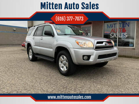 2008 Toyota 4Runner for sale at Mitten Auto Sales in Holland MI