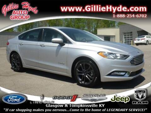 2018 Ford Fusion Hybrid for sale at Gillie Hyde Auto Group in Glasgow KY
