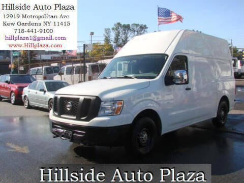 2014 Nissan NV Cargo for sale at Hillside Auto Plaza in Kew Gardens NY