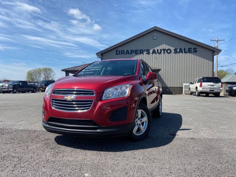 2015 Chevrolet Trax for sale at Drapers Auto Sales in Peru IN