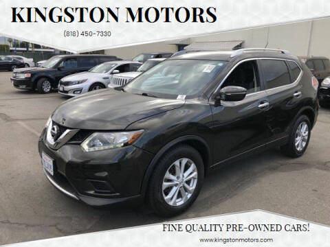 2015 Nissan Rogue for sale at Kingston Motors in North Hollywood CA