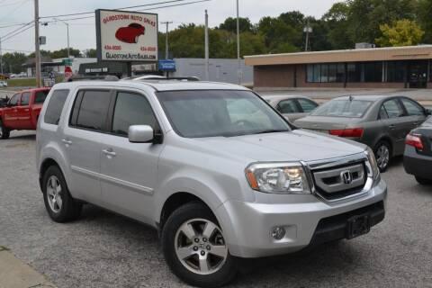 2009 Honda Pilot for sale at GLADSTONE AUTO SALES    GUARANTEED CREDIT APPROVAL in Gladstone MO