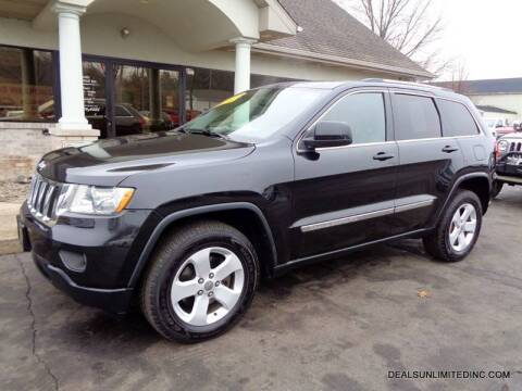 2012 Jeep Grand Cherokee for sale at DEALS UNLIMITED INC in Portage MI