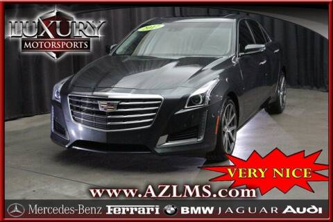 2017 Cadillac CTS for sale at Luxury Motorsports in Phoenix AZ