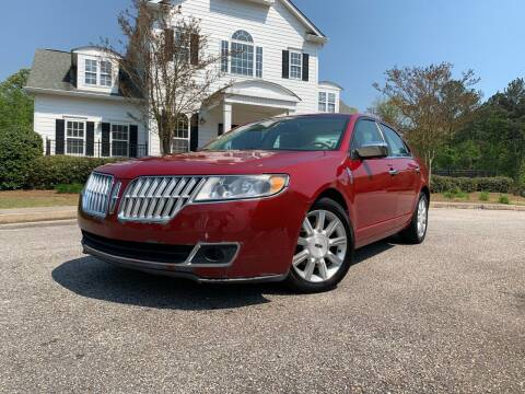 2010 Lincoln MKZ for sale at JES Auto Sales LLC in Fairburn GA