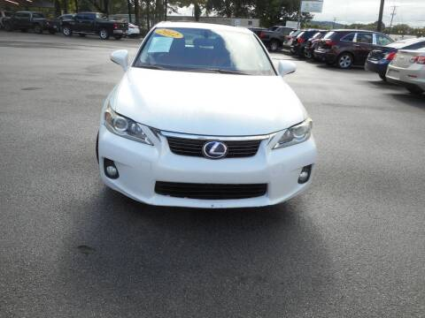 2012 Lexus CT 200h for sale at Elite Motors in Knoxville TN