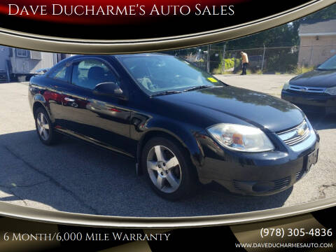 2010 Chevrolet Cobalt for sale at Dave Ducharme's Auto Sales in Lowell MA
