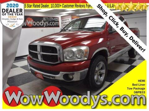 2008 Dodge Ram Pickup 1500 for sale at WOODY'S AUTOMOTIVE GROUP in Chillicothe MO