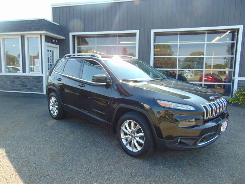 2014 Jeep Cherokee for sale at Akron Auto Sales in Akron OH