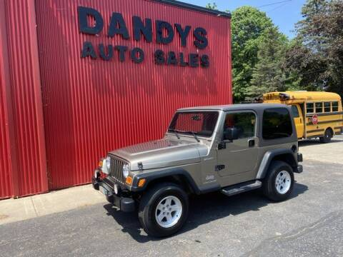 2004 Jeep Wrangler for sale at Dandy's Auto Sales in Forest Lake MN