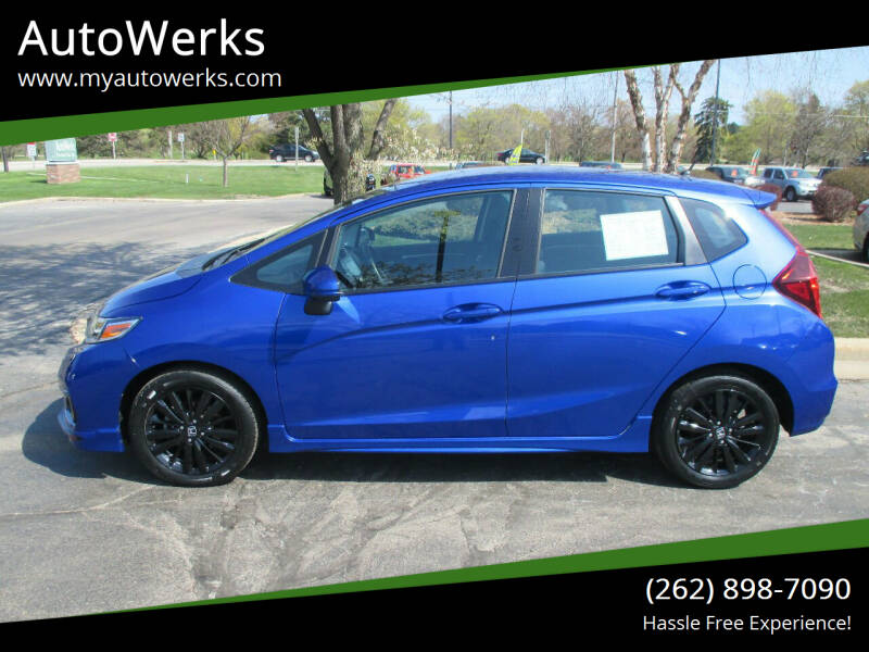 2018 Honda Fit for sale at AutoWerks in Sturtevant WI