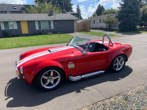 2002 Factory Five AC Cobra - Shelby AC Shelby Cobra for sale at Wild About Cars Garage in Kirkland WA