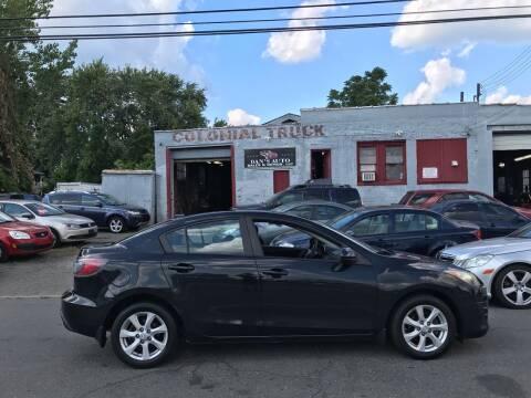 2010 Mazda MAZDA3 for sale at Dan's Auto Sales and Repair LLC in East Hartford CT