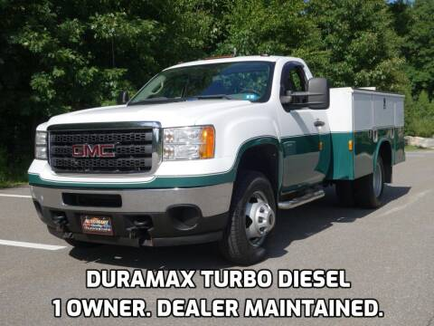 2011 GMC Sierra 3500HD CC for sale at Auto Mart in Derry NH