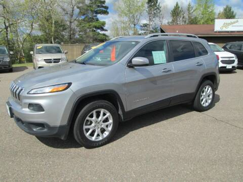 2017 Jeep Cherokee for sale at The AUTOHAUS LLC in Tomahawk WI