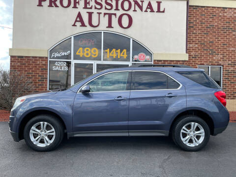 2013 Chevrolet Equinox for sale at Professional Auto Sales & Service in Fort Wayne IN