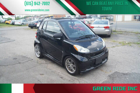 2009 Smart fortwo for sale at Green Ride Inc in Nashville TN