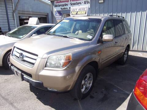 2007 Honda Pilot for sale at Fulmer Auto Cycle Sales - Fulmer Auto Sales in Easton PA
