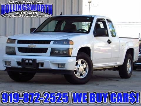 2008 Chevrolet Colorado for sale at Hollingsworth Auto Sales in Raleigh NC