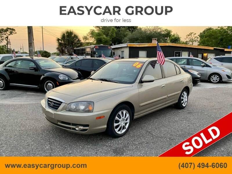 2006 Hyundai Elantra for sale at EASYCAR GROUP in Orlando FL