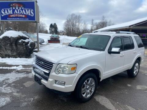 2010 Ford Explorer for sale at Sam Adams Motors in Cedar Springs MI