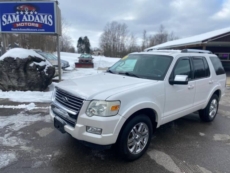 2010 Ford Explorer for sale at Sam Adams Motors in Cedar Springs MI