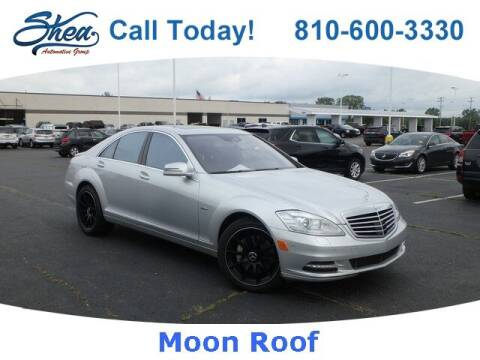 2012 Mercedes-Benz S-Class for sale at Erick's Used Car Factory in Flint MI