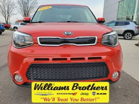 2016 Kia Soul for sale at Williams Brothers - Pre-Owned Monroe in Monroe MI