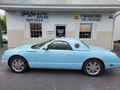 2003 Ford Thunderbird for sale at STATE LINE AUTO SALES in New Church VA