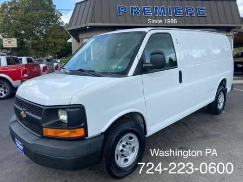 2015 Chevrolet Express Cargo for sale at Premiere Auto Sales in Washington PA