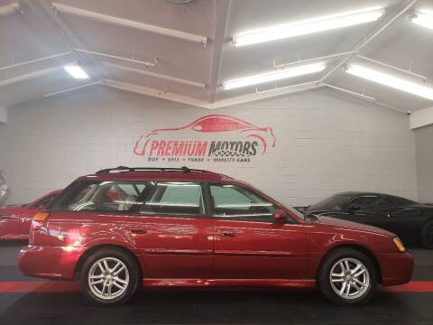 2004 Subaru Legacy for sale at Premium Motors in Villa Park IL
